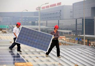 Čína zrychlí a znásobí investice do obnovitelných zdrojů energie.