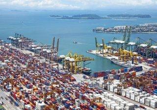 Čína je největším světovým vývozcem.