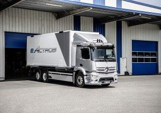 Daimler, Traton a Volvo dají společně 500 milionů eur na výstavbu dobíjecích stanic pro elektrické nákladní auta a autobusy. Ilustrační foto.