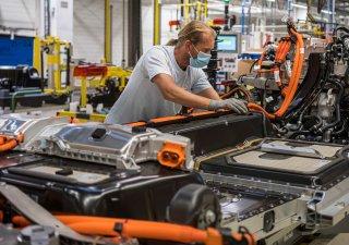 Automobilový průmysl, ilustrační foto