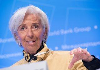 Christine Lagardeová, šéfka ECB