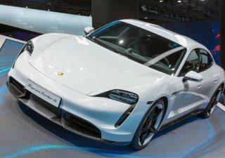 Elektrické Porsche Taycan