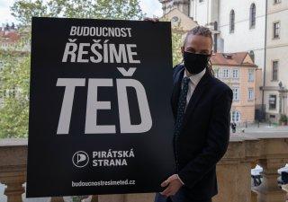 Ivan Bartoš, předseda Pirátů