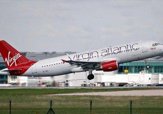 Virgin Atlantic, letadlo, ilustrační foto
