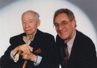 André Kostolanya finančník a publicista Gottfried Heller (vpravo)