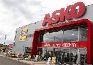Prodejna Asko Nábytek v Teplicích, ilustrační foto