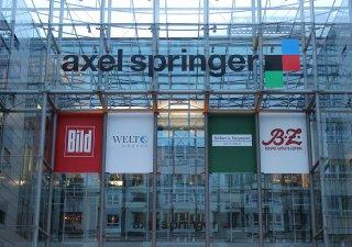 Axel Springer, logo, sídlo, ilustrační foto