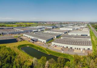 Přední průmyslový developer působící v Česku, CTP Group, udal další zelené dluhopisy za miliardu eur. Na ilustračním snímku ostravský průmyslový park.