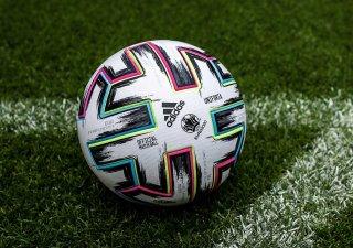 Oficiální míč Mistrovství Evropy ve fotbale.