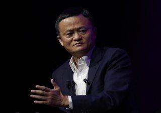Jack Ma, zakladatel firmy Alibaba