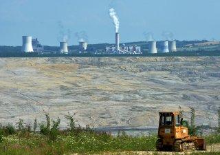 Hnědouhelný polský důl Turów