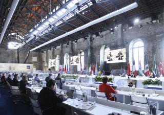 Setkání ministrů financí G20 v Benátkách