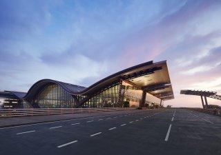 Letiště Hamad poutá svojí pozoruhodnou architekturou.