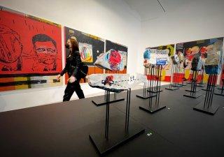 Výstava Vladimira 518 v pražské DSC Gallery.