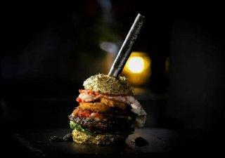 Nejdražší hamburger na světě.