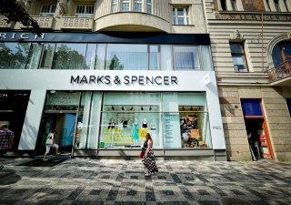 Obchod Marks & Spencer na Václavském náměstí v Praze