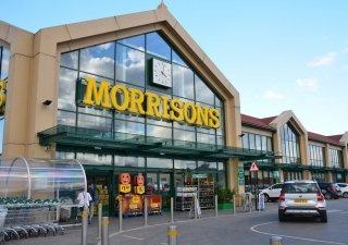 Maloobchodní řetězec Morrisons je čtvrtý největší řetězec v Británii.