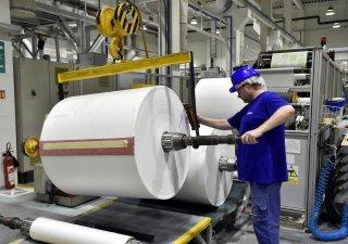 Výroba ve firmě Fatra z holdingu Agrofert v Napajedlech na Zlínsku
