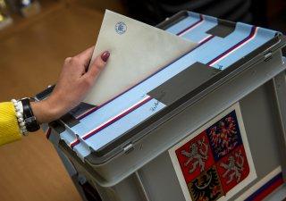Volební urna, ilustrační foto