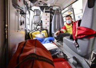 záchranná služba, ilustrační foto