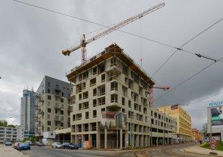 Výstavba bytů, ilustrační foto