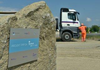 Stavba první soukromé dálnice v Česku začala.