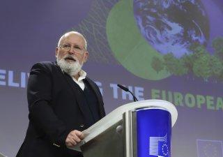 Evropský komisař pro Green Deal Frans Timmermans