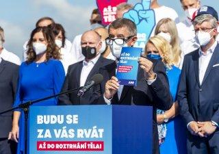 Andrej Babiš (ANO), představení volebního programu