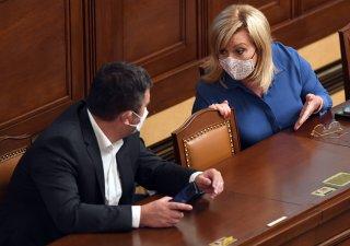 Alena Schillerová, ministryně financí a Jan Hamáček, ministr vnitra