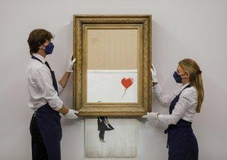 Banksy: Láska v koši