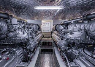 Rolls-Royce, výroba lodních motorů