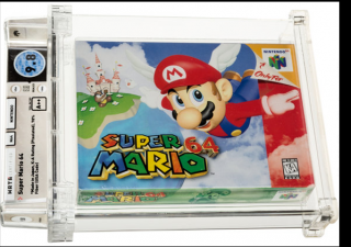 Super Mario urval dražební rekord