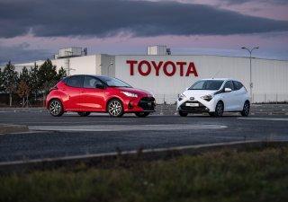 Toyota Yaris a Aygo se vyrábí v Kolíně