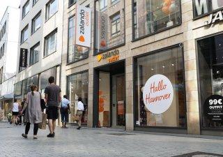 Outlet Zalanda v německém Hannoveru