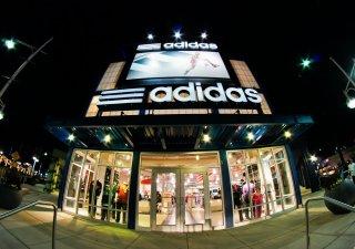 Adidas prodejna, ilustrační foto
