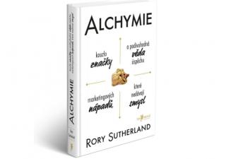 Alchymie, obálka knihy
