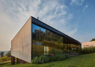 Jedna ze staveb nominovaných v užším kole České ceny za architekturu stojí nedaleko Zlína. Navrhl ho architekt Petr Janda / brainwork