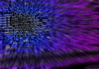 Kybernetický útok hackerů, ilustrační foto