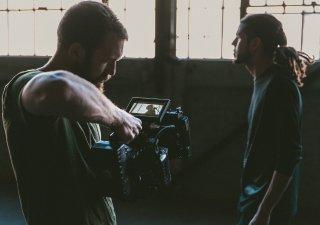Natáčení filmu - ilustrační foto
