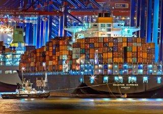 Kontejnerová loď, ilustrační foto