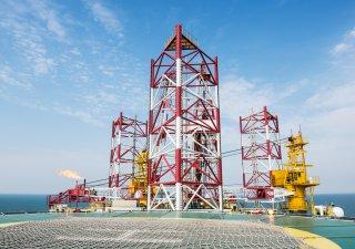 těžba ropy na moři