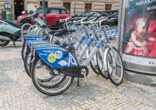 Bike sharing v Praze