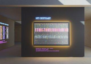 NFT, digitální umění, ilustrační foto