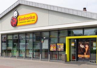 Polská obchod s potravinami Biedronka
