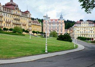 Mariánské lázně jsou oblíbenou dovolenkovou destinací Čechů.