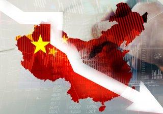 Čínská burza, ilustrační foto
