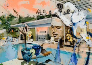 Martin Krajc (1984) Blue Drink