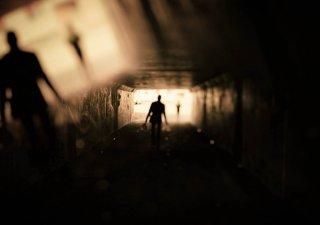 Muž ve stínu, ilustrační foto