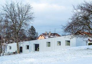 Rodinný dům v Radvanicích je jedním z nominovaných projektů České ceny za architekturu.