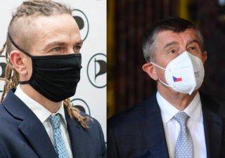 Andrej Babiš a Ivan Bartoš se utkají na Ústecku